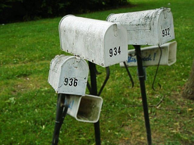 e-mail maillijst mailbox