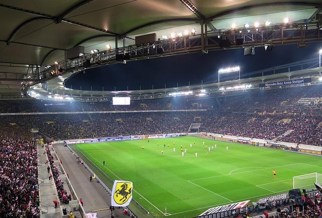 Voetbal-stuttgart-stadium